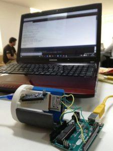 L'esperimento Radio Shield in fase di validazione a Bangalore.